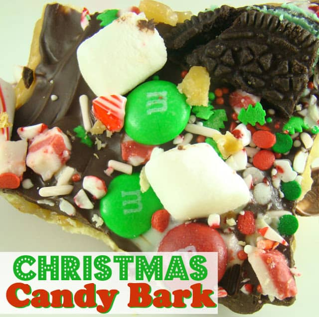 Toffee and Chocolate Christmas Candy Bark