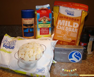 mockafoni cheese ingredients recipe