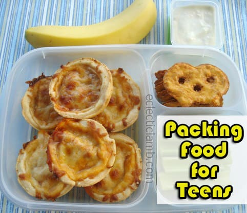 Tips for Packing Food for Active Teenagers