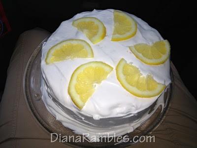 Layered Lemon Tres Leche Poke Cake