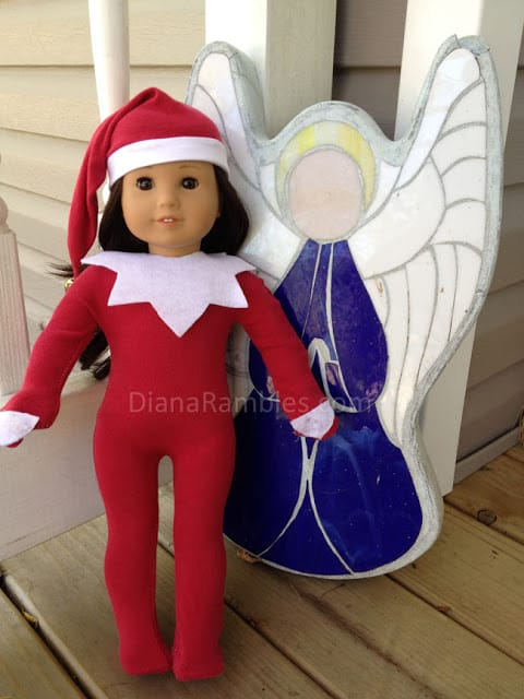 American Girl Doll Elf on the Shelf Outfit