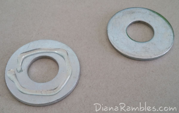 DIY Sewing Pattern Glue Washers