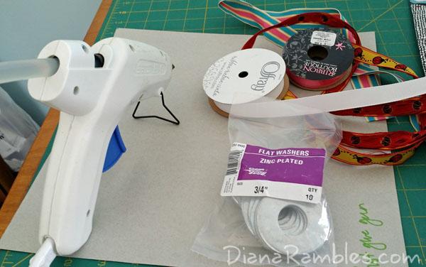 DIY Sewing Pattern Weights Supplies