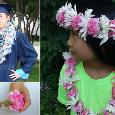 Flower Lei Tutorial