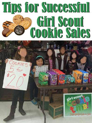 Tips for Successful Girl Scout Cookie Sales - Want successful Girl Scout Cookie Sales this year? Follow these tips for selling Girl Scout Cookies and reach higher sales goals this year.