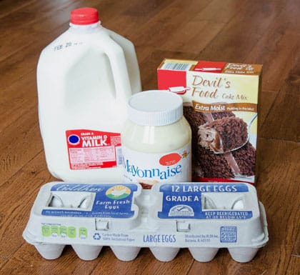Portillos Chocolate Cake Ingredients