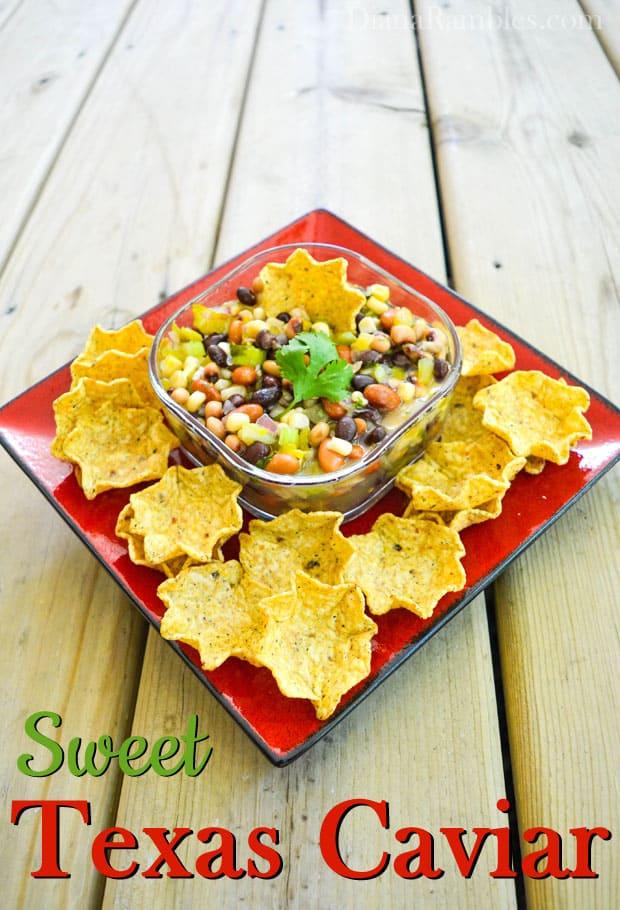 Sweet Texas Caviar Bean Dip Recipe