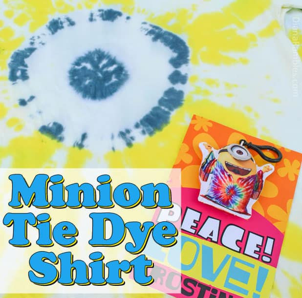 How To Make A Despicable Me Minion Tie Dye Shirt Tutorial