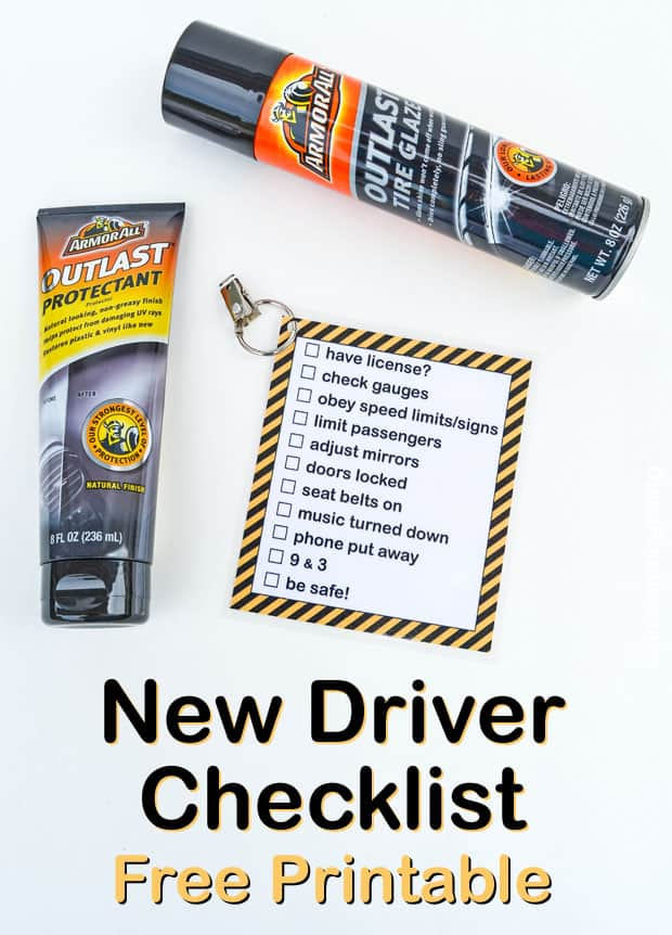 New Driver Checklist Free Printable #1stImpressionsCount AD