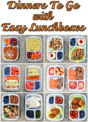 Easy Dinners On The Go with Easy Lunchboxes