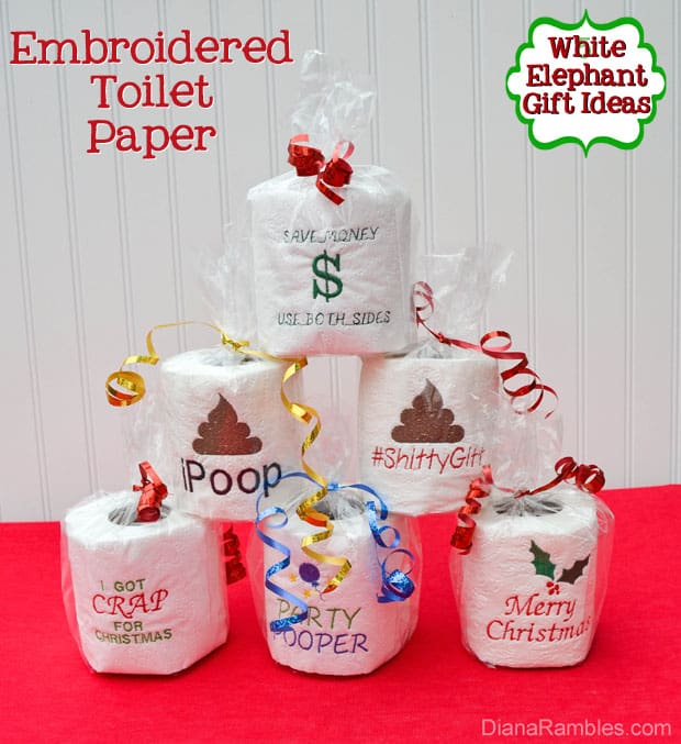 White elephant gift ideas potty edition gag gifts exchange Good gifts for gift exchange