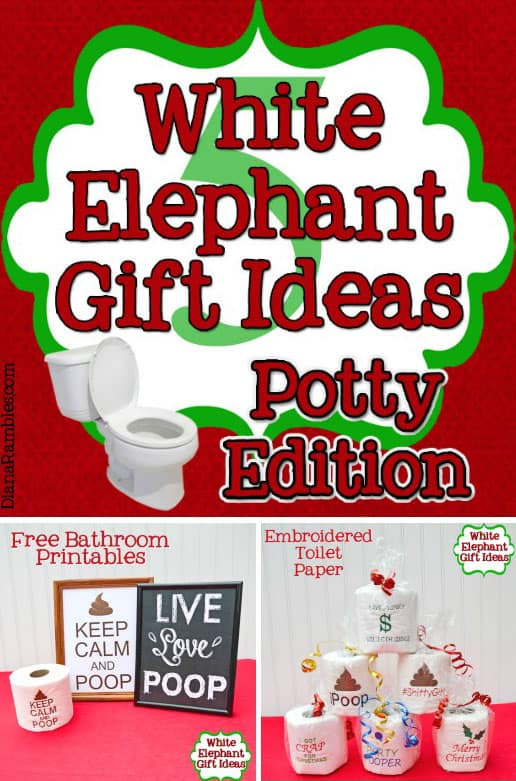 White Elephant Gift Ideas Potty Edition   Check Out These Hilarious Potty  Related White Elephant Gift