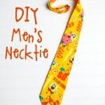 DIY Men's Necktie