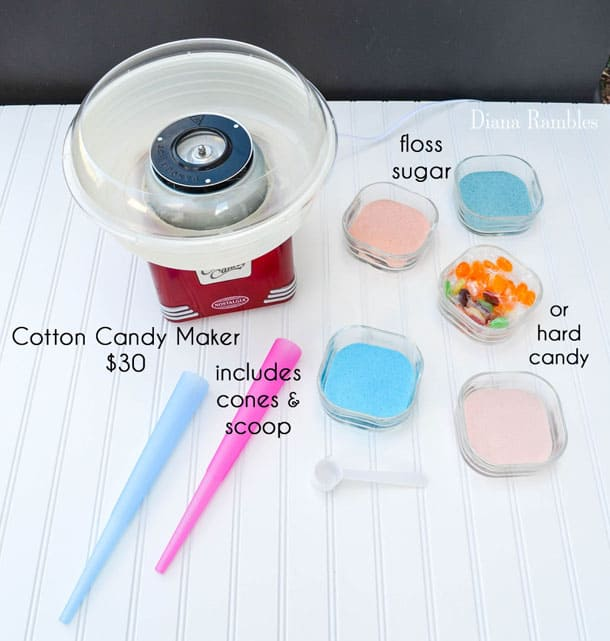 how to use cotton candy machine at home