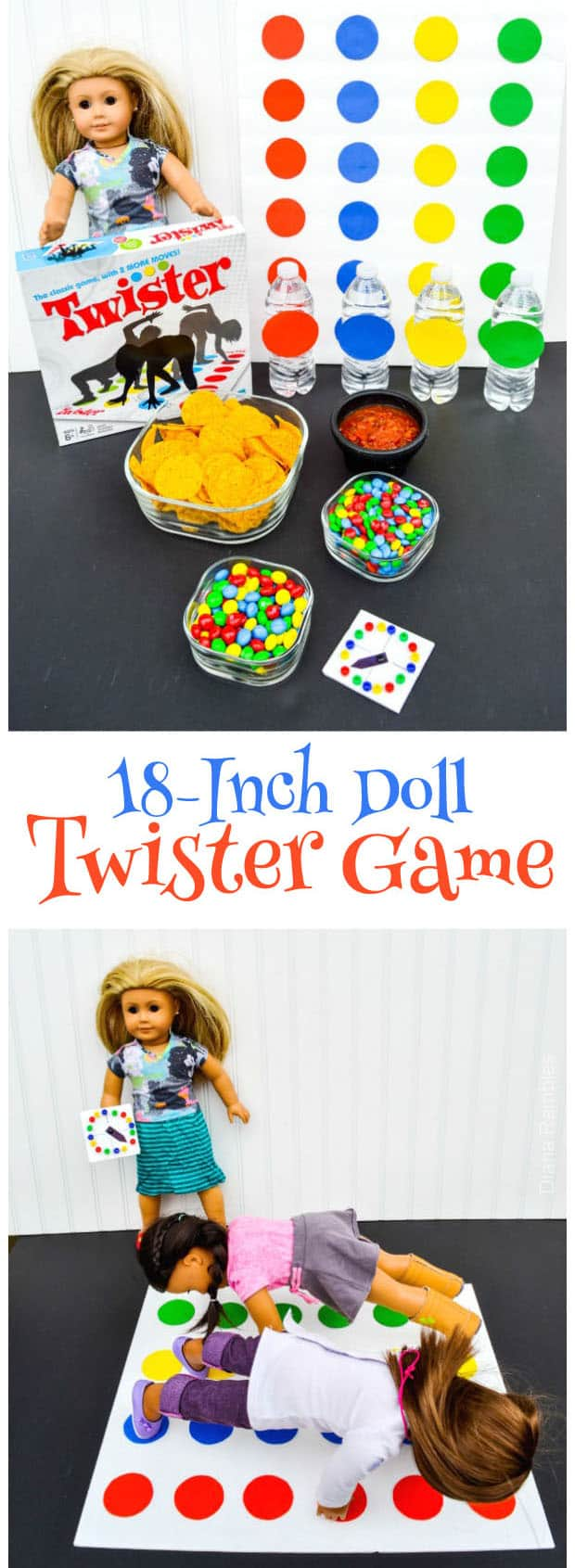 18-Inch Doll Twister Game Night