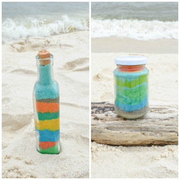 Sand-Art-Bottles-at-the-Beach