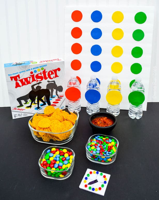 M&Ms & Twister Game Night #GameNightIn AD #Tutorial
