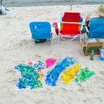 Tie-Dye Shirts at the Beach