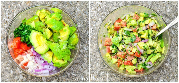 Easy Chunky Guacamole Recipe Directions