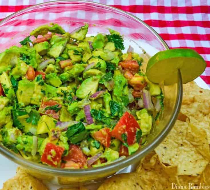 Easy Chunky Guacamole Recipe