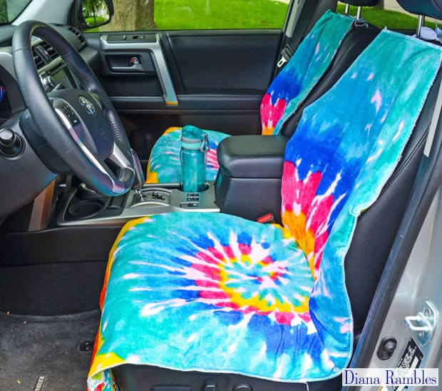 Do You Need To Protect Your Car Seats From Wet Or Dirty Summer Bodies This Step By Tutorial Shows How Make An Easy Waterproof Seat Cover That Will