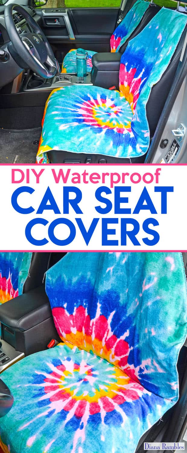 diy waterproof seat cover sewing tutorial. Black Bedroom Furniture Sets. Home Design Ideas