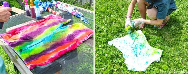 Tie-Dye Patterns Technique
