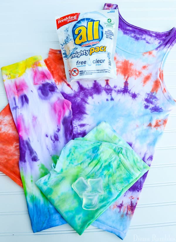 all free clear laundry detergent for washing brights
