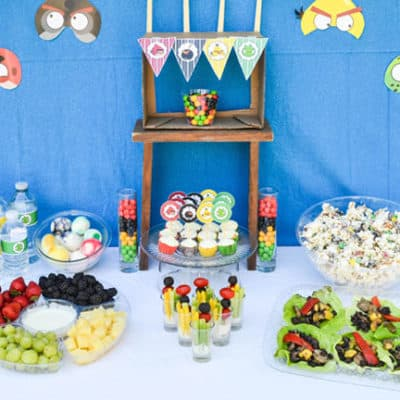 Angry Birds Party with Printables