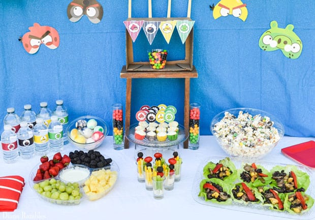 Angry Birds Party Food