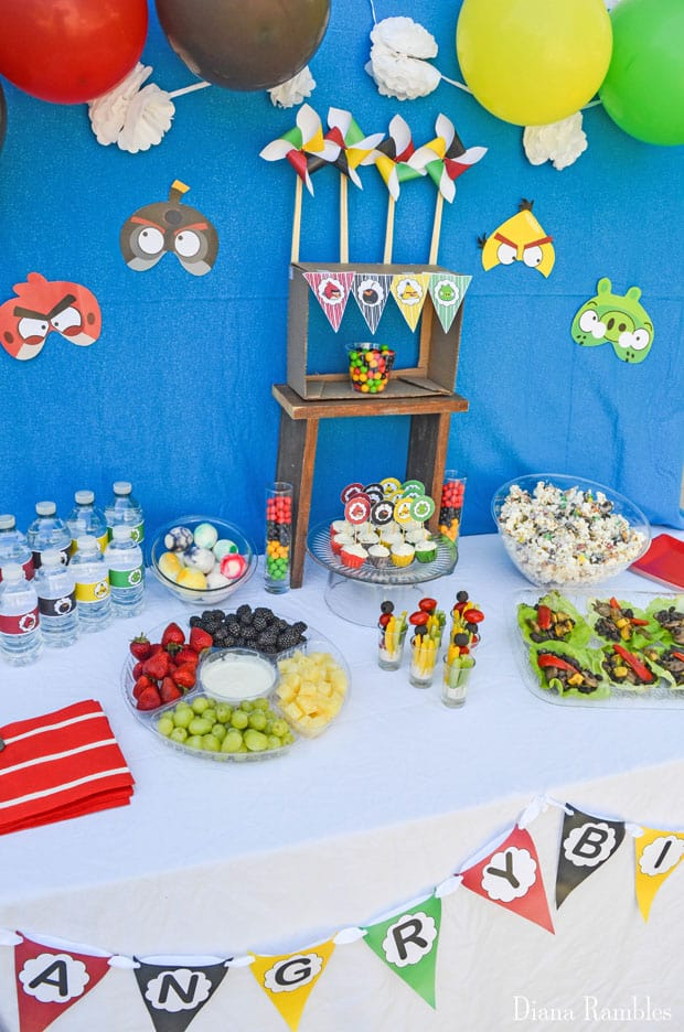 Angry Birds Party Free Party Decorations Download