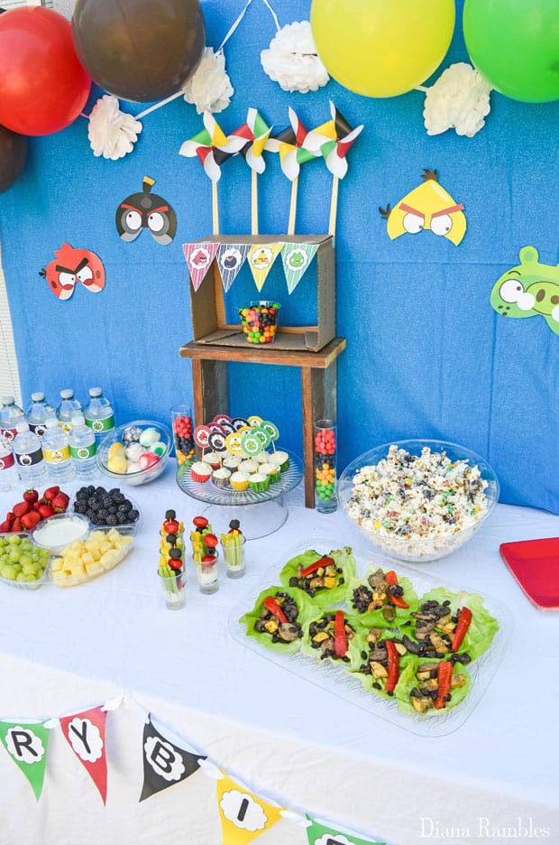 Angry Birds Party with Free Party Favors