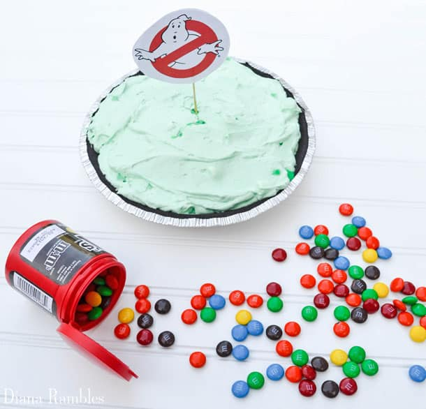 Ghostbusters Chocolate Mint Cream Pie Recipe