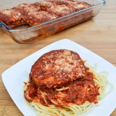 AD Chicken Patty Parmesan Recipe
