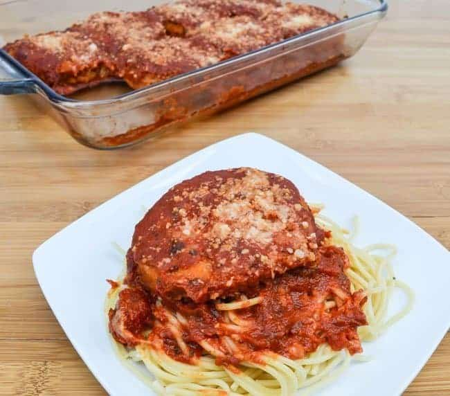Chicken Patty Parmesan Recipe - Need a quick meal your family will love? Try this Chicken Patty Parmesan made with frozen chicken patties. It's super easy and ready in under 30 minutes.