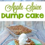 Apple Spice Dump Cake Recipe - Looking for an easy dessert recipe with apples? Try this easy Apple Spice Dump Cake recipe. It's so good that everyone will be raving about it.