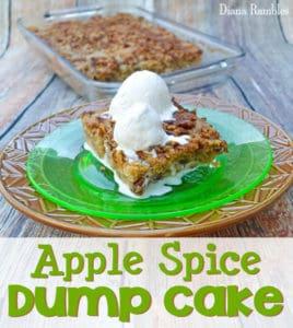 Apple Spice Dump Cake