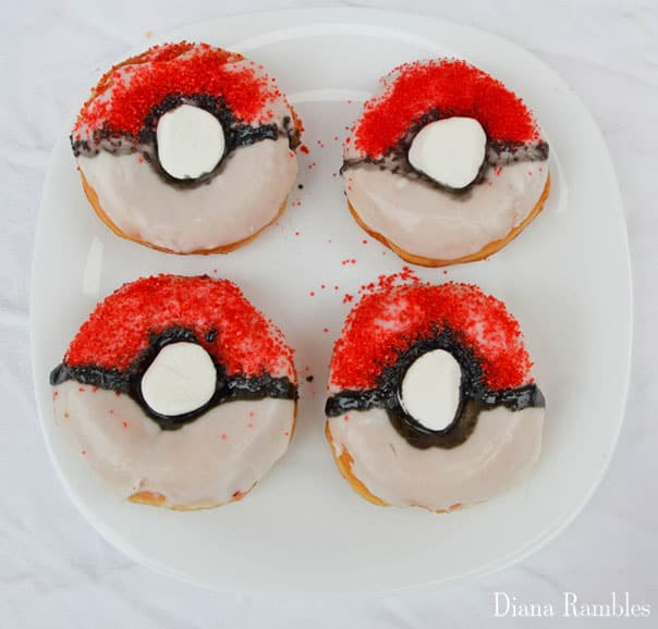 pokemon-ball-donut