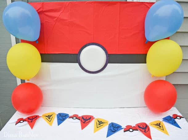 Traveling Pokémon Go Birthday Party  sc 1 st  Best Decoration Ideas 2018 & Pokemon Party Decoration Ideas u2013 Best Decoration Ideas 2018