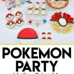 Pokémon GO Party and Free Download Printables - Throw a Pokémon GO party with these fun food ideas and free party decoration and party printables to download. It's perfect for a Pokemon birthday party!