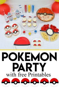graphic relating to Pokemon Cupcake Toppers Printable referred to as Pokémon Shift Social gathering and Absolutely free Obtain Printables