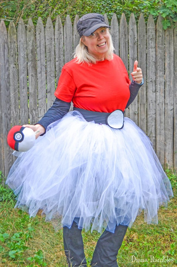 pokemon ball adult tutu costume