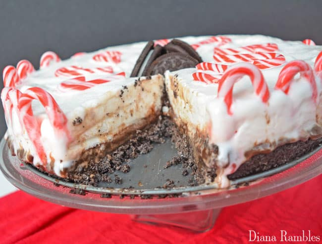Candy Cane Mud Pie