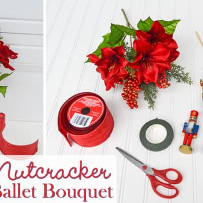 DIY Nutcracker Ballet Bouquet