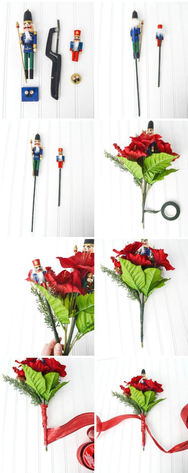 Make Your Own Nutcracker Ballet Bouquet Keepsake