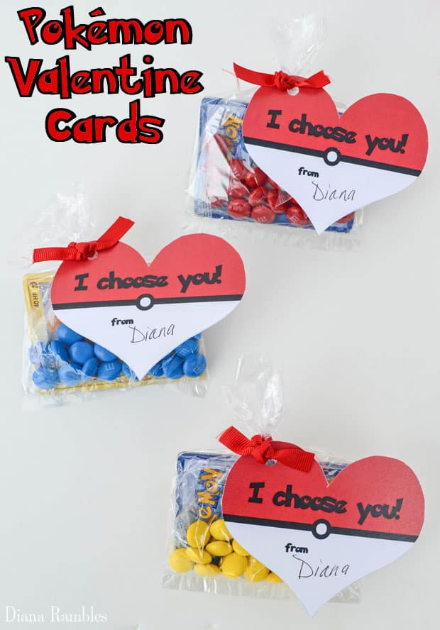 Pokémon Valentine Cards Free Download