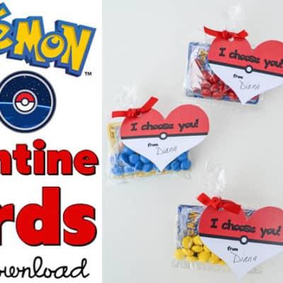 Free Pokémon Valentine Cards