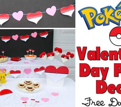 Pokémon Valentine's Day Party