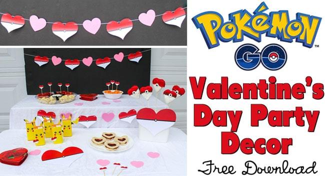 Pokémon Valentine's Day Party