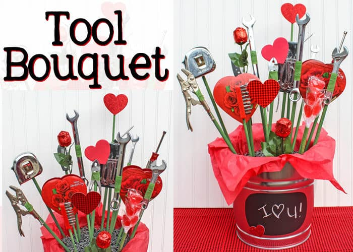Man Tool Bouquet for Valentine's Day